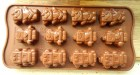 Chocolates Cooking pan