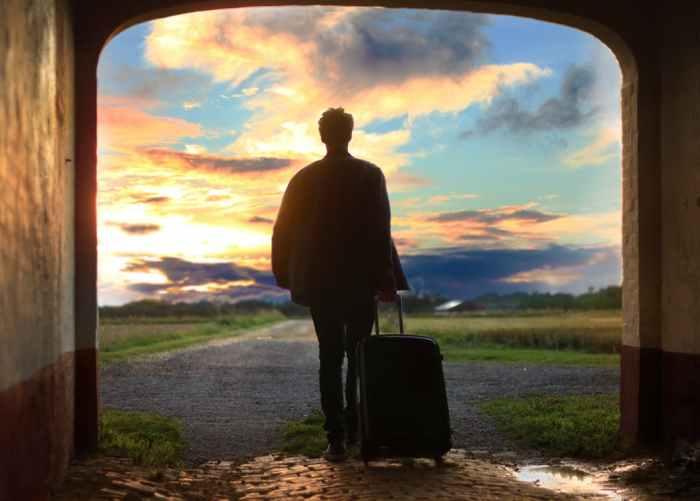 On Leaving Home, Forever