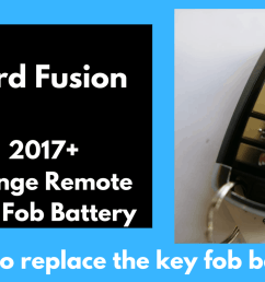 ford fusion key fob battery remote replacement 2006 2019 fobbattery com [ 1920 x 1080 Pixel ]
