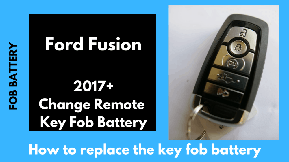 medium resolution of ford fusion key fob battery remote replacement 2006 2019 fobbattery com