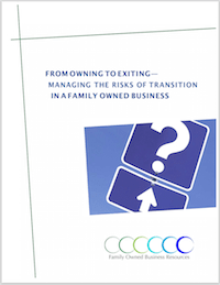 Statistics on the failure of family-owned businesses are well known. While more than 93 percent of businesses are family owned, only 30 percent survive in the second generation. This white paper discusses sound solutions to growth strategy, succession planning, and exit strategy.