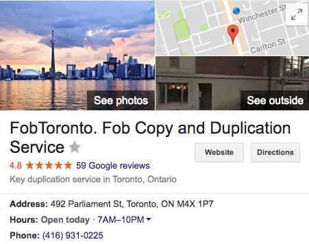 FobToronto condo fob copy service toronto key fob clone replacement