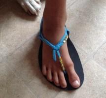 DIY Huarache Sandals