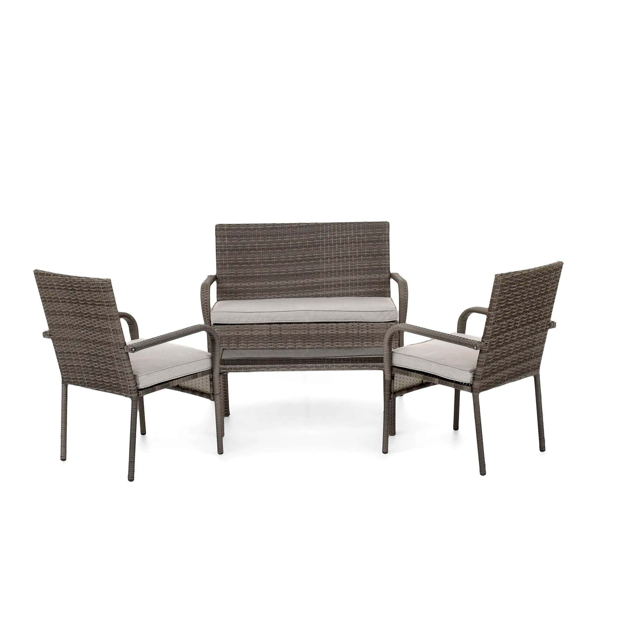 https www qdstores co uk products lyon 4 piece rattan conservatory set charcoal html