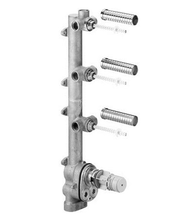Dornbracht 35547970 Concealed Rough Parts Xtool Thermostat