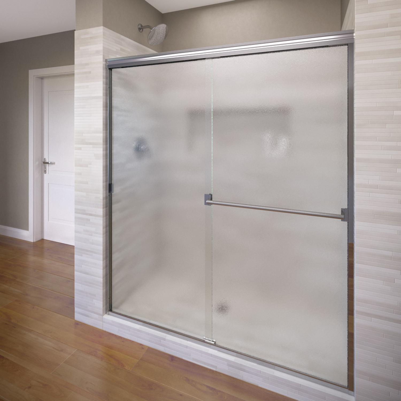 Basco 350056 56 Classic Sliding Shower Enclosure with