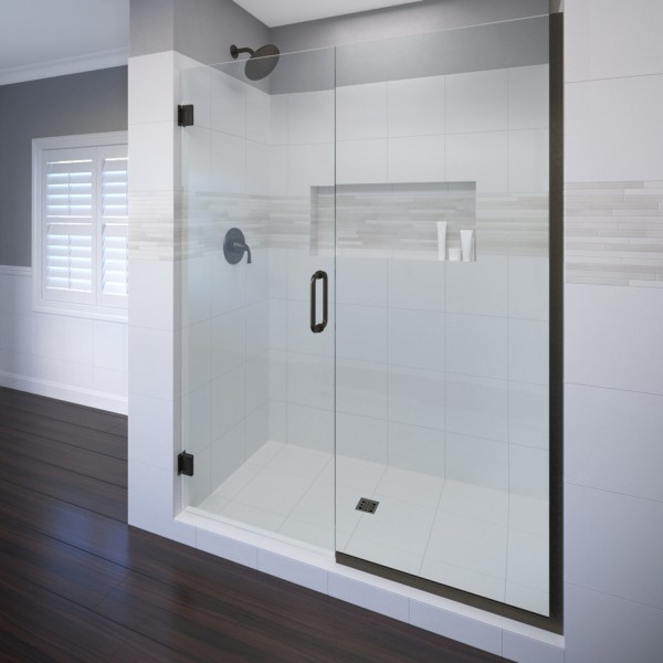Semi Frameless Pivot Shower Doors