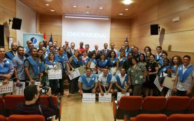 Fin de curso y entrega de orlas Instituto Focan 2017