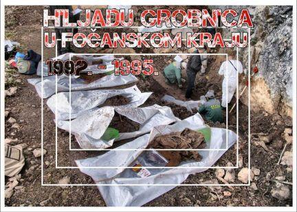 Foča 1992. - 1995. - hiljadu grobnica u fočanskom kraju