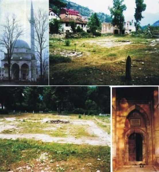 Foča - kulturocid - ubijanje Aladža džamije