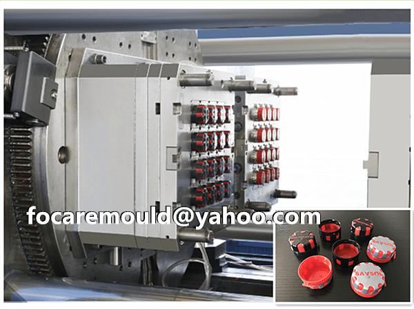 2k oil cap mold rotary