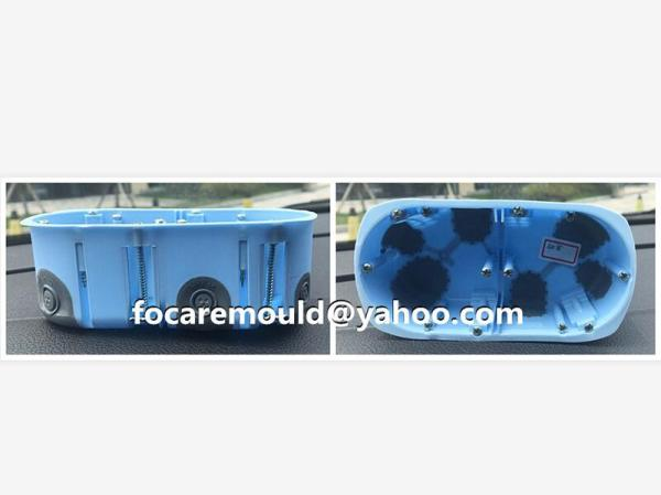 electrical box injection mold 2k