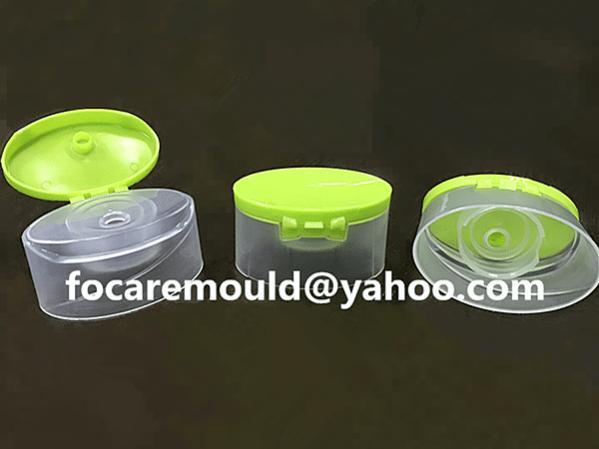 flip top shampoo cap mold 2k