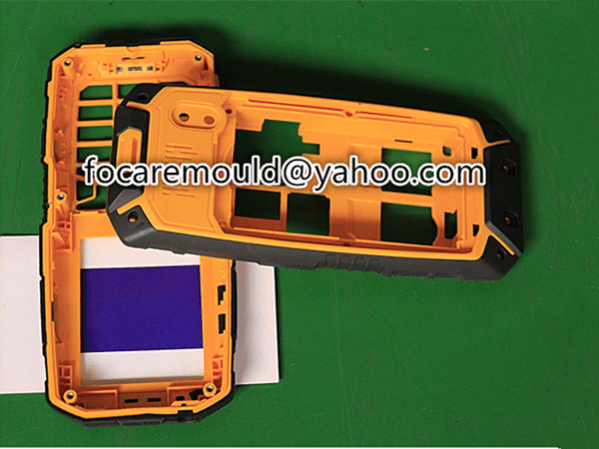 mobile phone case injection mold 2k