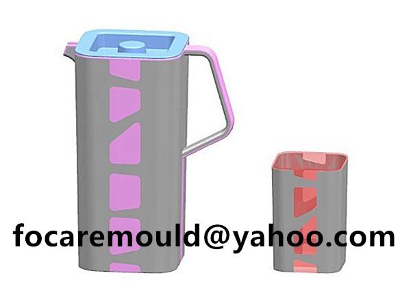 multi shot pour spout jug mold