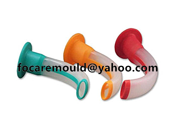 plastic double colour guedel oral airway