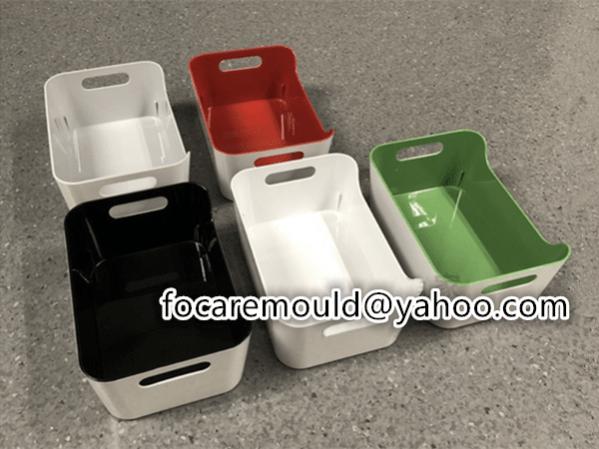 plastic double mold tray