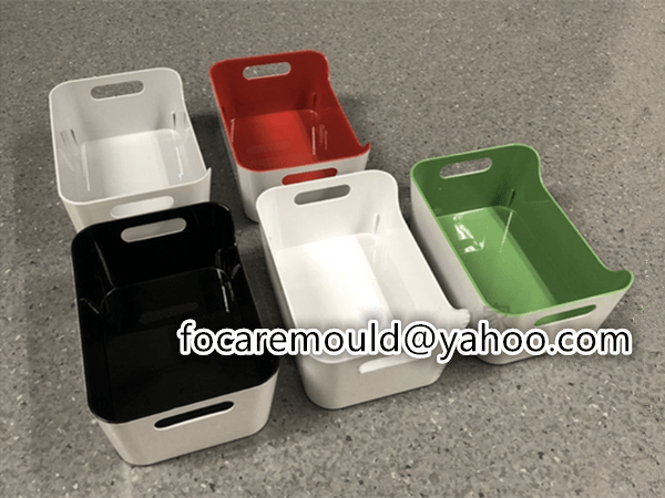 plastic double mold tray