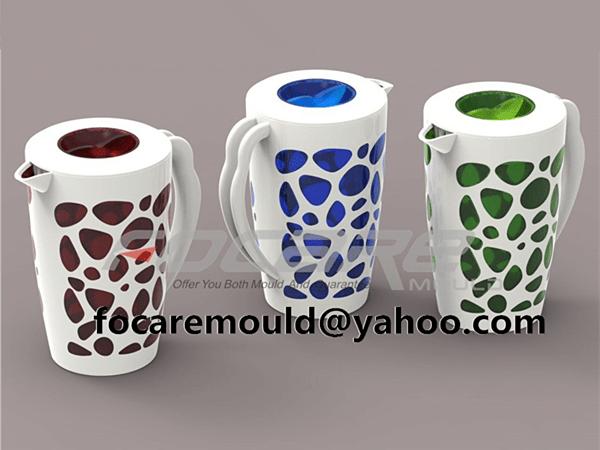 plastic double shot jug mold