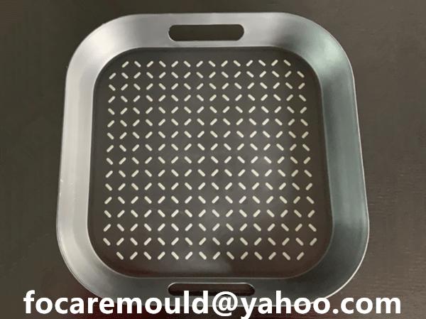 plastic trays bi material mold design