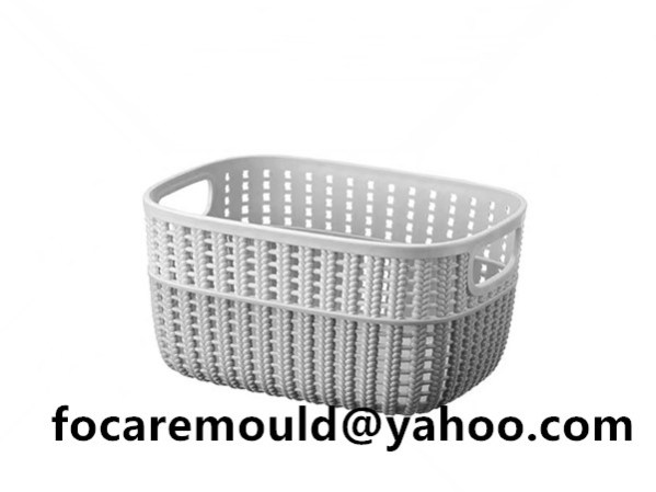 rattan mold 2k plastic basket