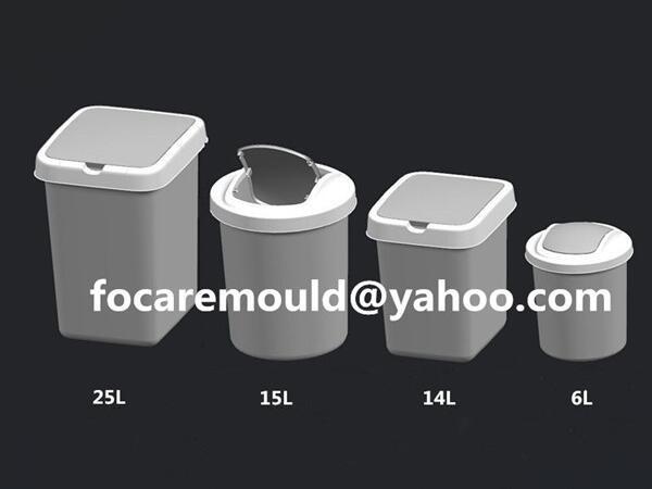 trash bins mold