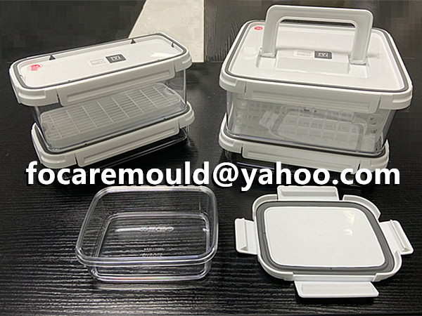 two color food storage container design