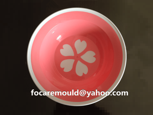 two color fruit dish mold design