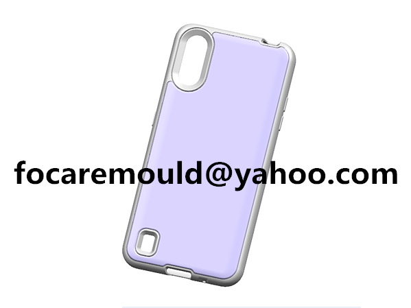 two color mobile shell