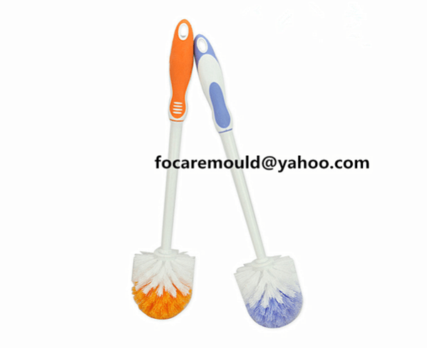 two color toilet comb handle