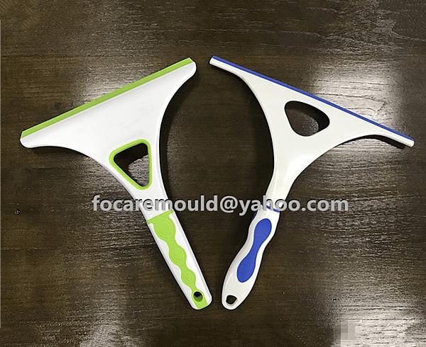 two color window wiper mold design