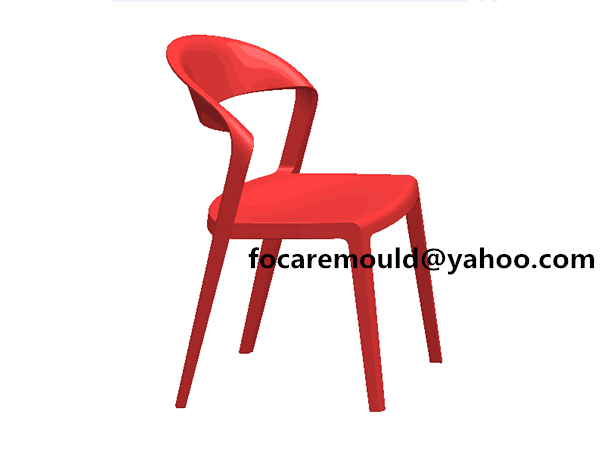 armless chair gas assist
