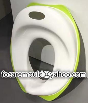 bi material baby toilet seat mold