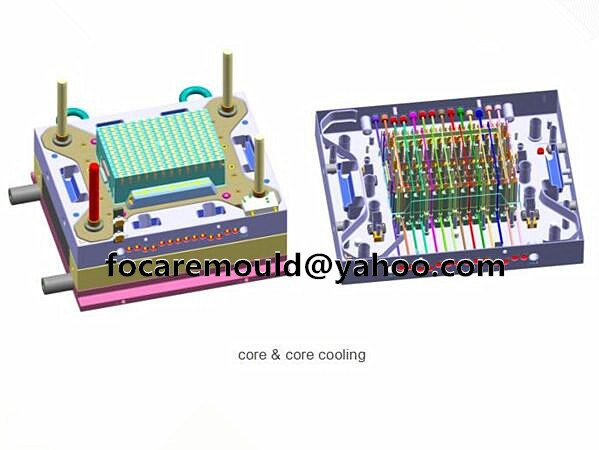 crate mold core cooling