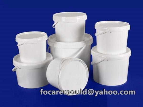 plastic paint bucket injection mold