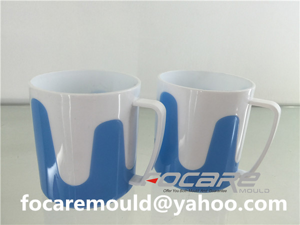 multi shot mug mold
