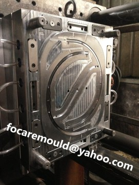 multi cavity bucket handle mold