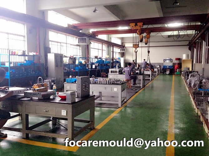 China fabricante plastico molde