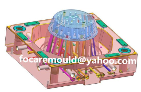 china bucket mold high speed molding