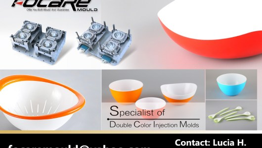 China two color molds manufacturer