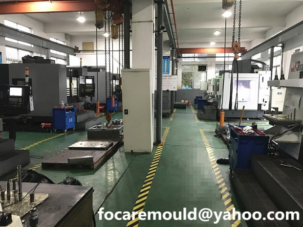 China mold workshop
