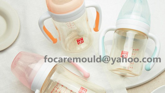 2K mould baby bottle handles