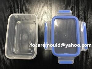 bi color mold organizer box cover design
