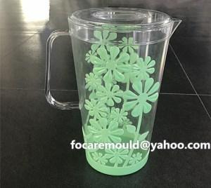 bi color mold plastic pitcher die