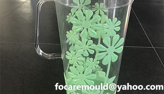 bi color mold plastic pitcher die