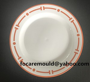 dinner plate mold two color