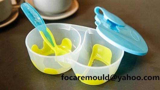 bicolor baby stuck bowl set