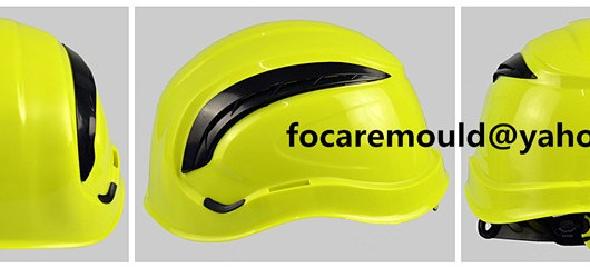 China hard hat two color mold