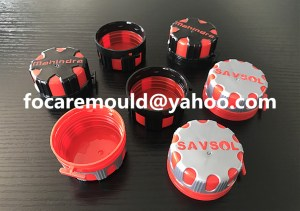 China two color oil cap mold