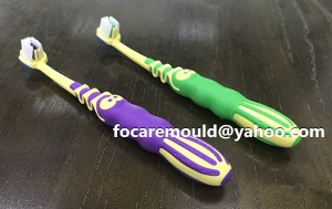 Plastic maker of toothbrush mold